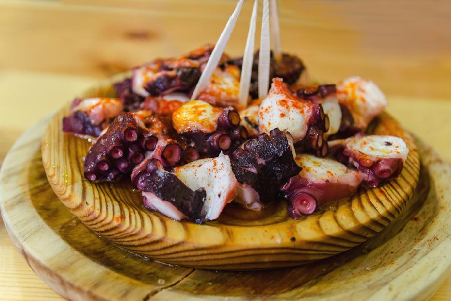 Das Rezept für Pulpo a la Gallega - Oktopus Galizische Art