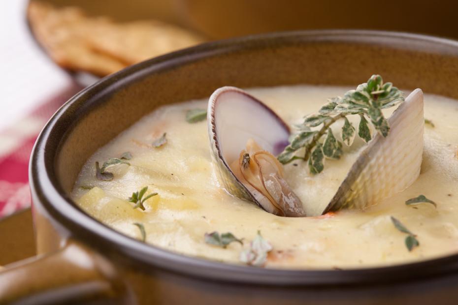 Cremig-milde Fischsuppe aus Irland (Chowder)